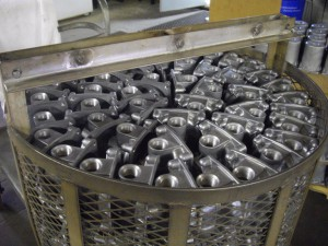 Die Castings Ready for Impregnation